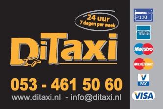 Taxi Enschede visitekaartje