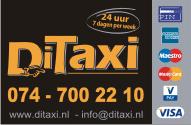 Taxi Hengelo visitekaartje